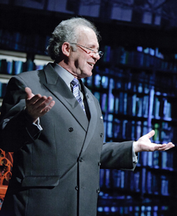 Reflections on Page-to-Stage at The Kennedy Center: 'Carlo vs. Carlo' by Faction of Fools Theatre Company on Sunday, September 4, 2011