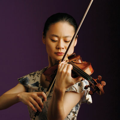 National Symphony Orchestra With Conductor Christoph Eschenbach and Violinist Midori Plays Britten