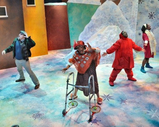 The Snowy Day at Adventure Theatre