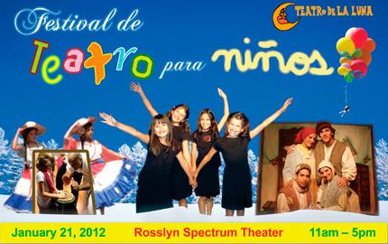 Teatro de la Luna's Festival de Teatro para Niños
