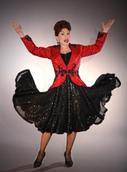 Rita McKenzie in 'Ethel Merman's Broadway.' Photo courtesy of The Music Center at Strathmore.