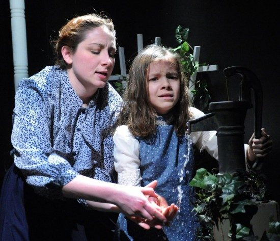 The Miracle Worker at Compass Rose Studio Theater