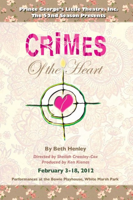 Crimes of the Heart at Prince George's Little Theatre