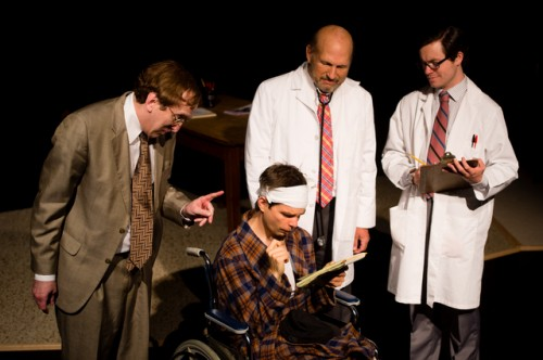 theatre review flowers for algernon at elden street players professor