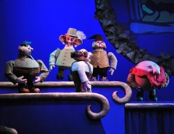 The Dwarves.  Photo courtesy of The Puppet Co.