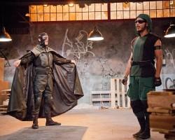 Andrés C. Talero as Nightlife and Jon Hudson Odom as Sensi. Photos courtesy of Alliance Theatre.