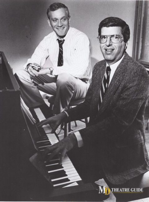 Theatre Scrapbook: Howard Ashman and Marvin Hamlisch
