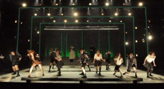 """The cast of 'Spring Awakening.""""  Photo by Stan Barouh."""