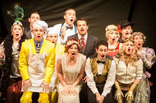 The cast of 'The Drowsy Chaperone.' Photo courtesy of CUA.