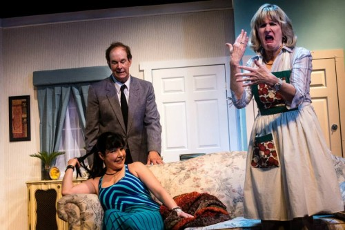 Mike Baker (John Smith), Annie Ermlick (Barbara Smith), Tricia O'Neill-Politte (Mary Smith). Pictures by Tabitha Rymal - Vaughn.
