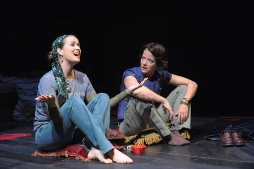 Elizabeth Jernigan, Megan Anderson. Photo by Stan Barouh.