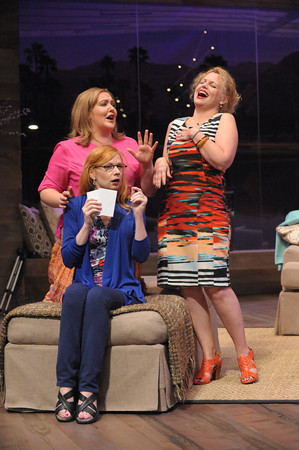 Tracy Lynn Olivera, Susan Lynskey and Tonya Bechman. Photo by Stan Barouh.