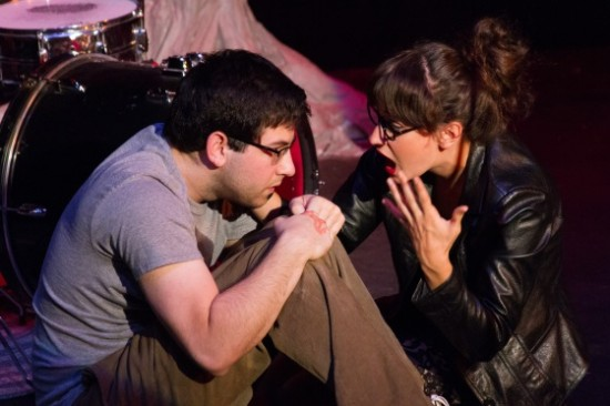 Theatre Review: 'Unplugged' by Flying V Theatre at the Writers' Center