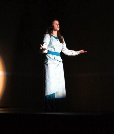 Calla Fuqua as Catherine in 'Pippin.'