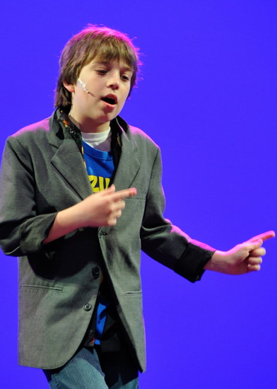 Henry Niepoetter as Jason Gray in 'Camp Rock: The Musical' - Adventure Theatre/Musical Theater Center,  2013.   Photo provided by Adventure Theatre/Musical Theater Center.