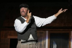Mo Dutterer as Tevye in 'Fiddler on the Roof.' Photo courtesy of HCST.