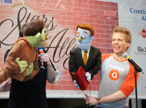 Photo from 'Avenue Q.'
