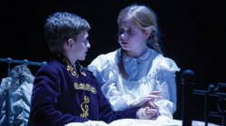 "Anthony Frederickson as Colin, Caitlin Cohn as Mary in ""The Secret Garden"" at Center Stage. Photo by Richard Anderson."