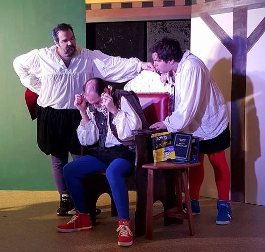 from 'The Complete Works of William Shakespeare (Abridged)' at NDCT. Photo by Regan Cashman.