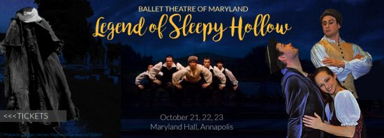 Ballet Theatre of Maryland Presents: The Legend of Sleepy Hollow