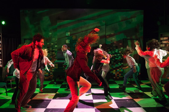 Theatre Review: 'Flying V:  Be Awesome: A Theatrical Mixtape of the 90s' at The Writer's Center