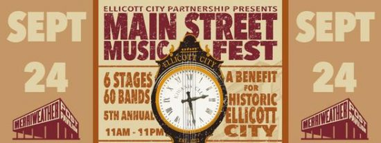 Music News: Main Street Music Fest to Benefit Historic Ellicott City