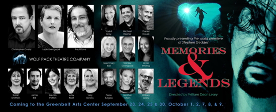 Theatre Review: 'Memories and Legends' by Wolf Pack Theatre Company at Greenbelt Arts Center