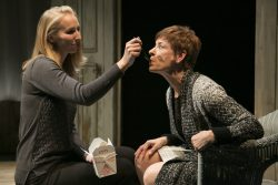 Maggie Robertson (The Woman) and Julie-Ann Elliott (Juliana). Photo by Katie Simmons-Barth.