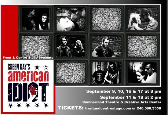 Front & Centre Stage produces 'Green Day's American Idiot' at CT