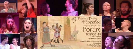 Theatre Review: 'A Funny Thing Happened on the Way to the Forum' at American University