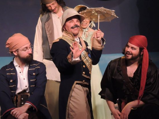 Theatre Review: 'The Pirates of Penzance' at Way Off Broadway Dinner Theatre