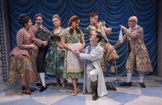 Theatre review fickle a fancy french farce at olney for Farcical in french