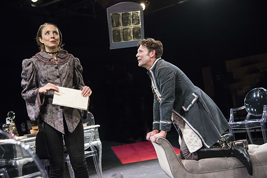 Theatre Review: 'Emilie: La Marquise Du Châtelet Defends her Life Tonight' by WSC Avant Bard at Gunston Arts Center, Theatre Two