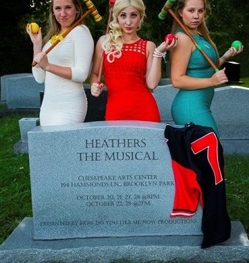 Theatre Review: 'Heathers: The Musical' by How Do You Like Me Now Productions at Chesapeake Arts Center