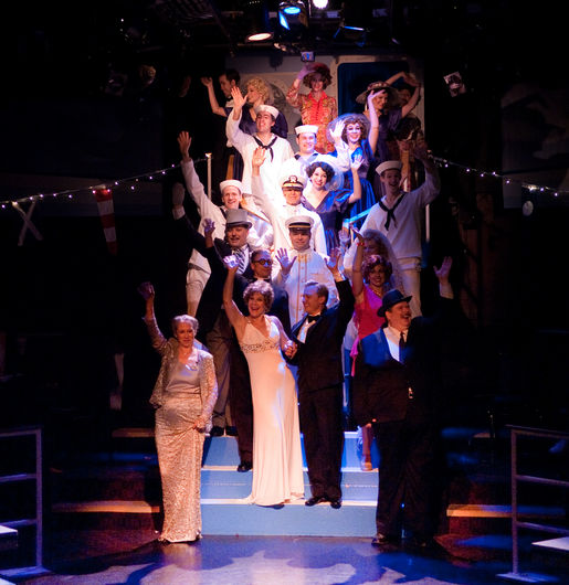 Anything Goes at Toby's Dinner Theatre of Columbia