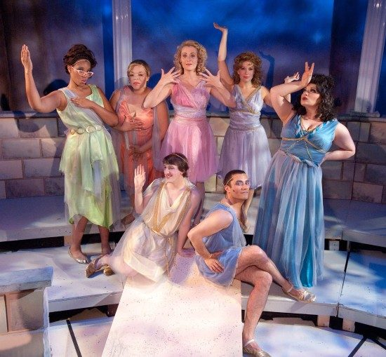 Xanadu at Toby's Dinner Theatre of Baltimore