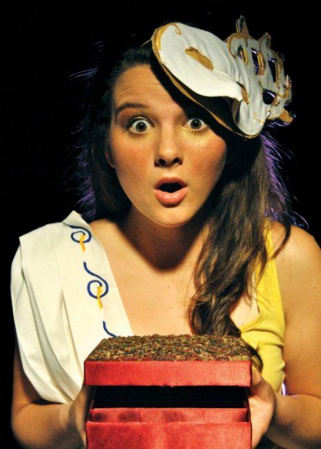 Fringe Review: Pandora: A Tragicomic Greek Romp
