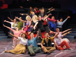 The Cast of 'Grease' at Olney Theatre Center. Photo by Stan Barouh.