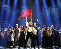 """""""One Day More"""" with the cast of Les Miserables. Photo by Deen van Meer."""