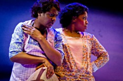 Tonia M. Jackson and Celeste Jones in 'Gleam.' Photo by Richard Anderson.