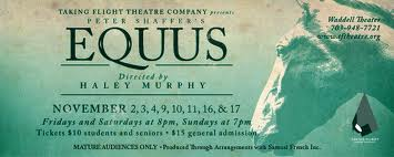 Theatre Review: 'Equus' at Taking Flight Theatre Company
