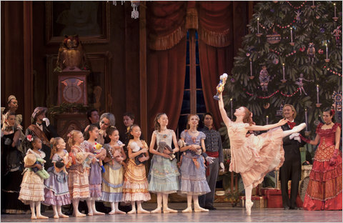 "Christianne Campbell in the Washington Ballet's production of ""The Nutcracker."" Photo by Carol Pratt."