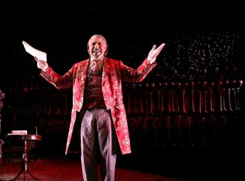 Max McLean stars as Screwtape.  Photo by Gerry Goodstein.