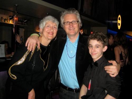 Barbara Bear, Signature Theatre's Artistic Director Eric Schaeffer, and professional actor Noah Chiet.
