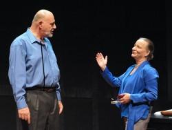 Brian Hemmingsen and Sarah Marshall.  Photo by Stan Barouh.