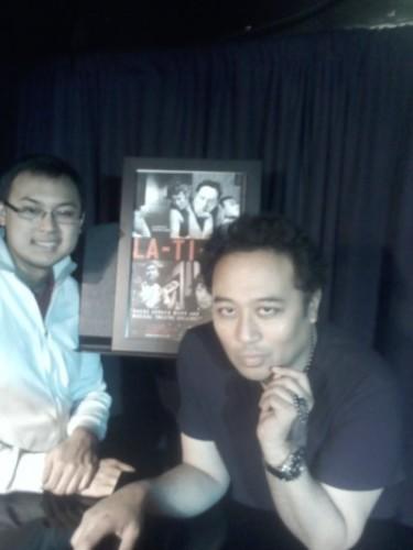 L-R DonMike Mendoza and Reggie Cabico.