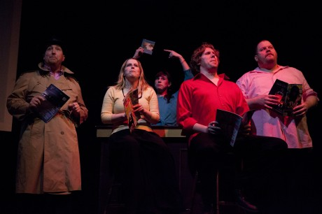 The cast of 'Tomfoolery.' Photo by Matt Rose.
