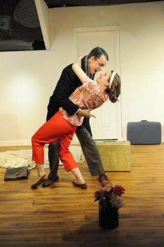 Brandon McCoy as Paul and Brianna Letourneau as Corie.Photo by