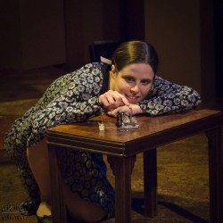 Vanessa Strickland as Laura Wingfield. Photo by Joe Williams.