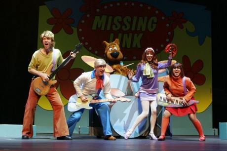 Scooby-Doo and the Mystery Inc. Gang  Photo by Kelly Phillips.